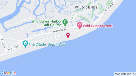Wild Dunes Resort Map