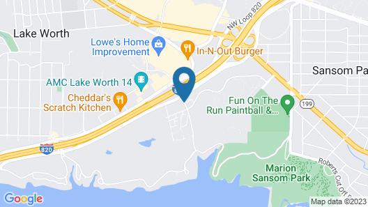La Quinta Inn & Suites by Wyndham Fort Worth - Lake Worth Map