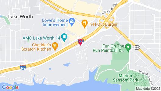 Comfort Suites Lake Worth Map