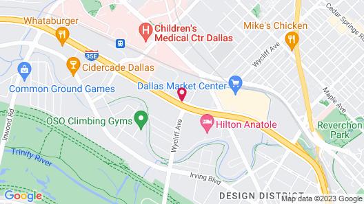 Renaissance Dallas Hotel Map