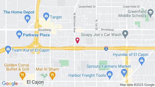 Days Inn by Wyndham San Diego-East/El Cajon Map