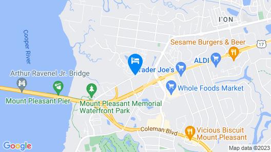 Hilton Garden Inn Charleston / Mt. Pleasant Map