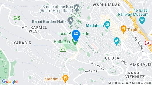 Dan Panorama Haifa Map