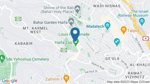 Beth-Shalom Hotel Map