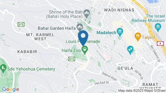 Bay View Haifa Map