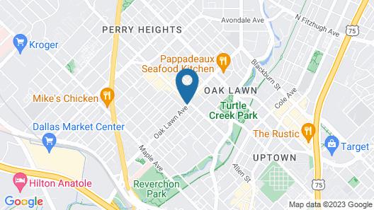 Warwick Melrose Dallas Map