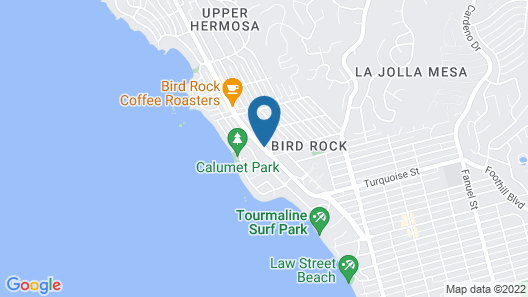 The Sands of La Jolla Map