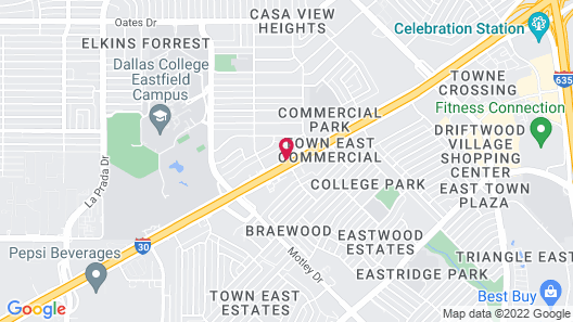 Red Roof Inn Dallas - Mesquite Map