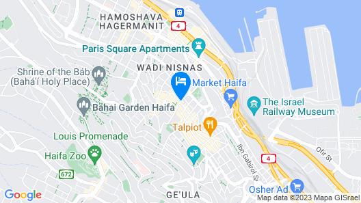 Eden Hotel Map