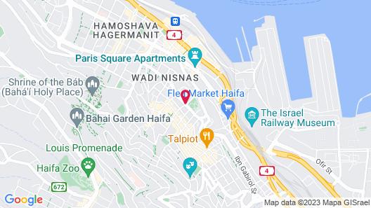 Bay Club Hotel - An Atlas Boutique Hotel Map