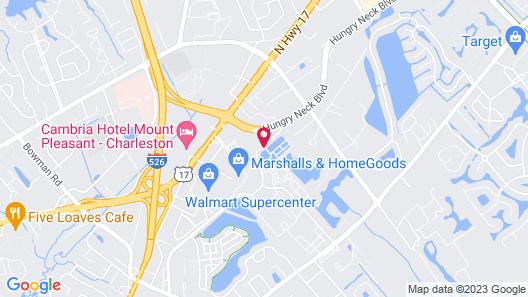 Tru by Hilton Mt Pleasant Charleston Map