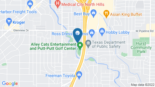 Fairfield Inn & Suites by Marriott Fort Worth Northeast Map