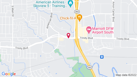 Days Inn & Suites by Wyndham Euless DFW Airport South Map