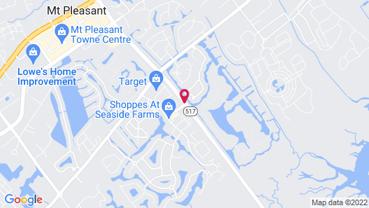 Homewood Suites by Hilton Charleston - Mt Pleasant Map