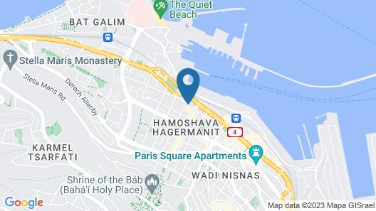 Golden Crown Haifa Map