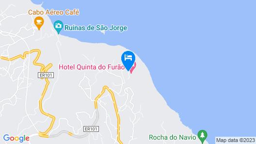 Hotel Quinta Do Furao Map