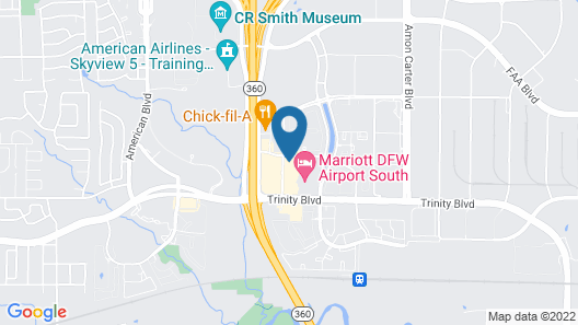Candlewood Suites DFW South, an IHG Hotel Map