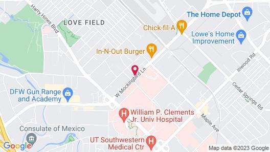 Element Dallas Love Field Map