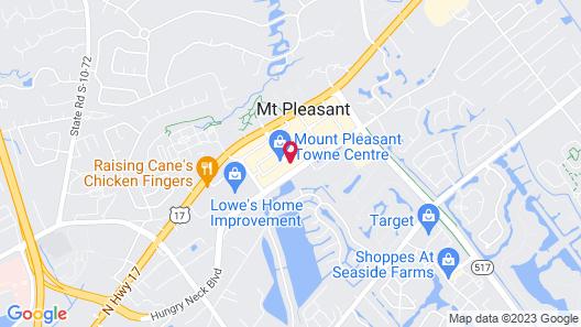 Hyatt Place Mount Pleasant Towne Centre Map