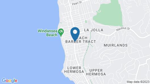 Holiday Inn Express & Suites La Jolla – Windansea Beach, an IHG Hotel Map
