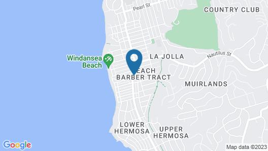 The Shoal La Jolla Beach Map