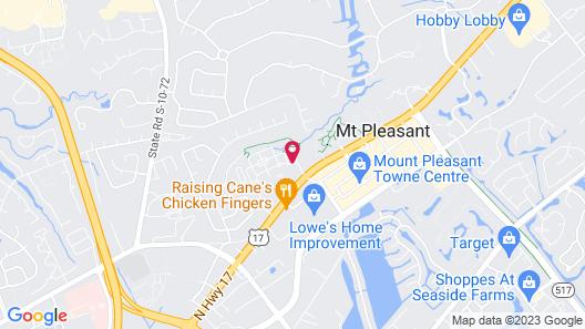 Home2 Suites By Hilton Mt Pleasant Charleston Map