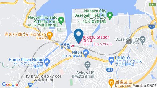 KIKITSU Station Hotel Map