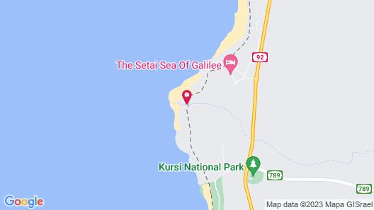The Setai Sea of Galilee Map