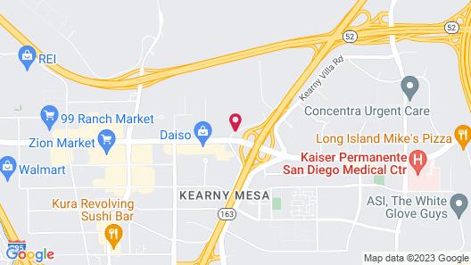 Hampton Inn San Diego-Kearny Mesa Map