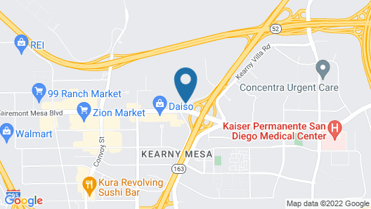 Hampton Inn San Diego-Kearny Mesa Map