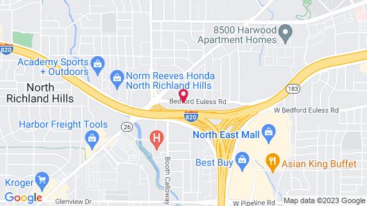 Travelodge by Wyndham North Richland Hills/Dallas/Ft Worth Map