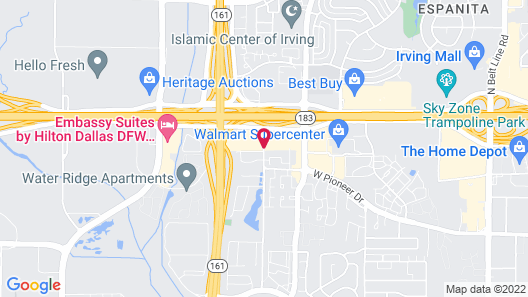 Country Inn & Suites by Radisson, DFW Airport South, TX Map