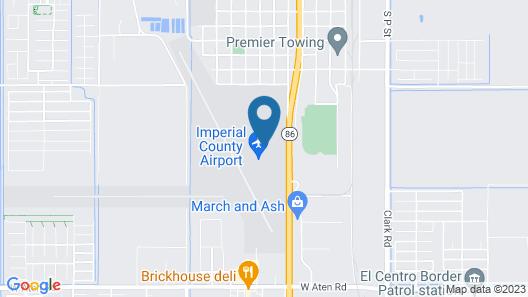 Rodeway Inn Imperial - El Centro Map