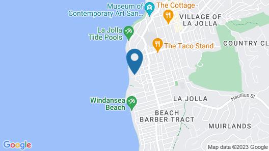 Luxury Beachfront Estate & Private Beach. Map