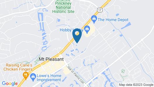 Holiday Inn Express & Suites Charleston NE Mt Pleasant US17, an IHG Hotel Map