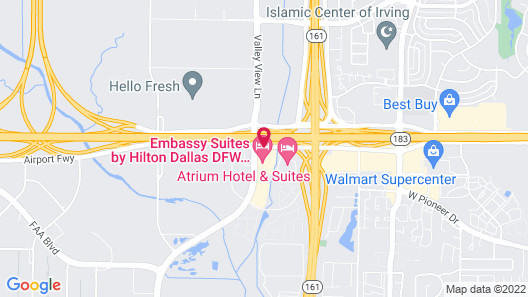 Embassy Suites by Hilton Dallas DFW Airport South Map