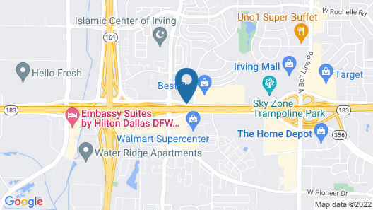 La Quinta Inn & Suites by Wyndham DFW Airport South / Irving Map