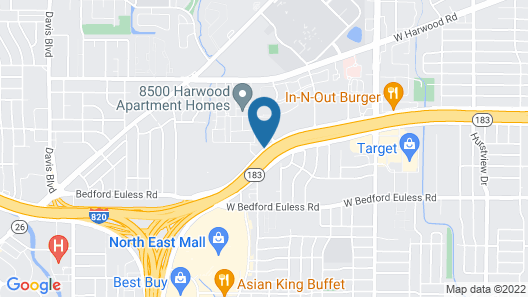 Quality Inn & Suites North Richland Hills Map
