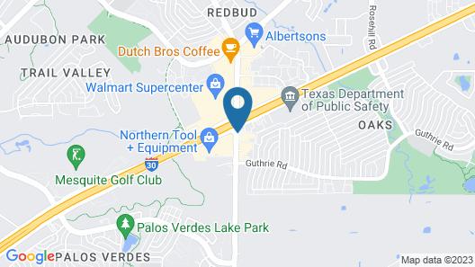 Americas Best Value Inn Garland Dallas Map