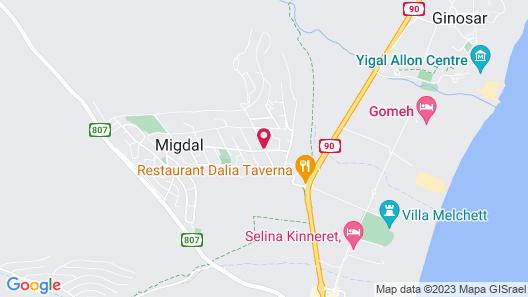 Nino Magdala Resort Map