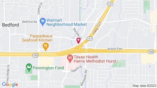 La Quinta Inn & Suites by Wyndham DFW Airport West - Bedford Map