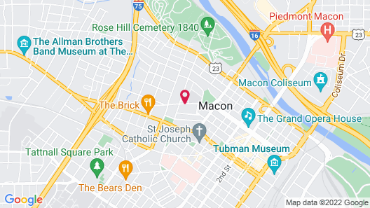 Burke Mansion Map