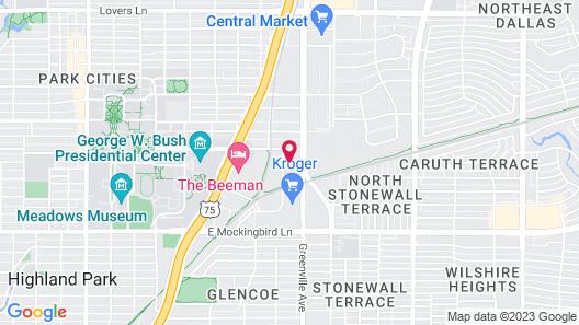 Kasa Dallas Apartments Near SMU Map