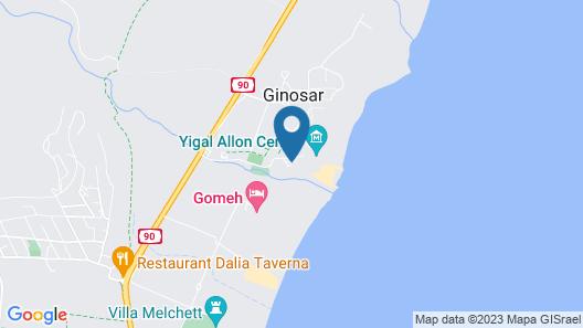 Nof Ginosar Hotel Map