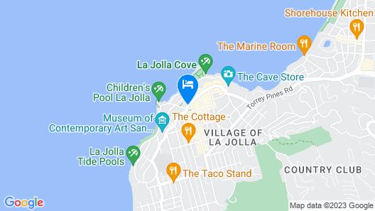 Grande Colonial Hotel Map