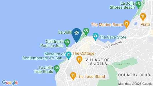 Pantai Inn Map