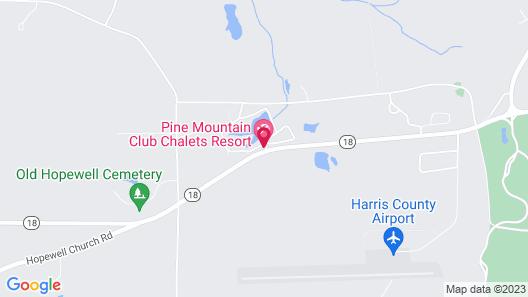 Pine Mountain Club Chalets Resort Map
