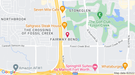Sonesta ES Suites Fort Worth Map
