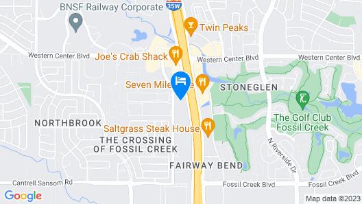 Tru by Hilton Fort Worth Fossil Creek Map