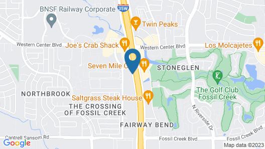 Staybridge Suites Fort Worth - Fossil Creek, an IHG Hotel Map